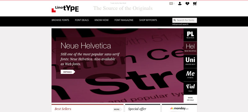 10 Best Font Websites